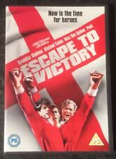 ESCAPE TO VICTORY DVD (MICHAEL CAINE-STALLONE) GOOD AS NEW MINT CON FREE POST