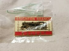 More details for aslef train drivers commerative pin badge brighton depot. #76