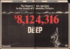 THE DEEP__Original 1977 Trade AD promo / poster__JACQUELINE BISSET_NICK NOLTE