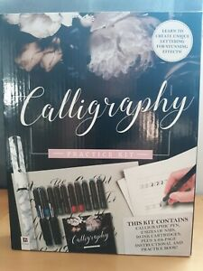 UNOPENED Calligraphy Practice Kit by Hinkler (E)
