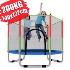 Trampolin Kinder Trampoline Sicherheitsnetz Indoor Garten Minitrampolin 200kg