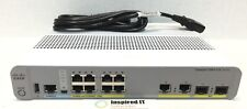 WS-C2960CX-8PC-L - Cisco Catalyst 2960-CX 8 Port PoE, LAN Base 2 x 1G SFP