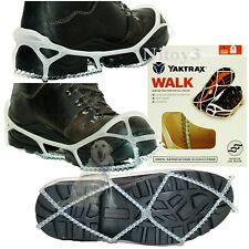 Yaktrax Winter Traverse Traction Pull-Ons For Shoes-Boots Unisex Large  (T)