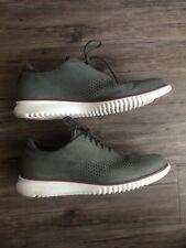 Cole Haan Men's 2.ZERØGRAND Laser Wingtip Oxford Grey White C26036 sz 13 Shoes