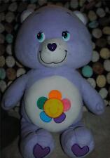 "Care Bears Harmony Bear Giant Jumbo 2 foot Plush Stuffed Teddy 24"" Rare 2004 BIG"