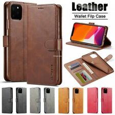 For iPhone 12 11 Pro Max 12 Mini Flip Leather Wallet Case Card Stand Cover Skin