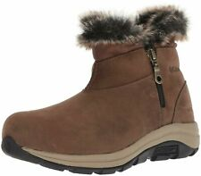 Columbia Women's Bangor Shorty Ankle Waterproof Leather Boots BRAND NEW Size 8.5