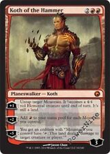 1 PLAYED FOIL Koth of the Hammer - Red Scars of Mirrodin Mtg Magic Mythic Rare 1