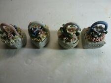 Four Cute Little Trinket Boxes
