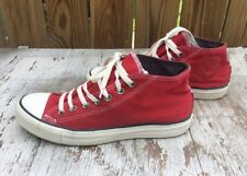 Converse All Stars Chuck Taylor STREET MID TOP RED Men's 9 SWEET