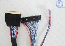 I-PEX 20453-20455 40Pin S6 LVDS Cable for 14.0/15.6/17.3/18.4 LED LCD/Display
