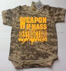 Personalized Baby Bodysuits (Camouflage)