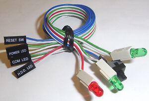 pc led & 1 switch (getrennte anschlüsse)