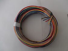 6 x  5 meter 4mm WIRE (ALL WITH TRACE COLOUR ) TYCAB SINGLE AUTO WIRE 15 Amp