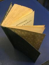 1888-Passet/Perroncito/Bosio:RICETTARIO VETERINARIO-TORINO UNIONE TIP.EDITRICE