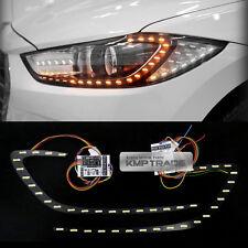 Head Lamp 2Way Turn Signal DRL LED Module 2Pcs for HYUNDAI 2017-2018 Elantra AD
