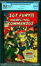 Sgt. Fury and His Howling Commandos #42 CBCS NM- 9.2 Off White to White