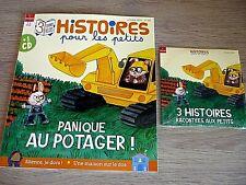 REVUE  HISTOIRES POUR LES PETITS N° 211 - OCTOBRE 2021  /  PANIQUE AU POTAGER  !