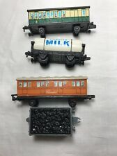 4 pcs Clarabel, Tidmouth Milk, Passenger Car - Thomas Tank Engine & Friends ERTL