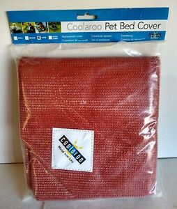 Coolaroo Dog Bed Replacement Cover Large Maroon Terra Cotta GP3202 455859 Cot