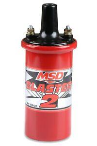 MSD 8202 Blaster 2 Coil Hi Performance Ford Chevy Dodge Oil Filled CARB 45000 V