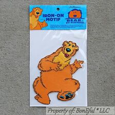 BonEful Boutique Disney Bear in the Big Blue House Fabric Iron On New L Applique