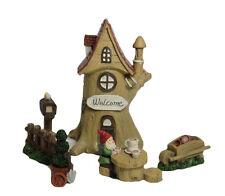 Miniature Fairy Garden Set Fairies Elves Gnome Little People Pixies Kids Play