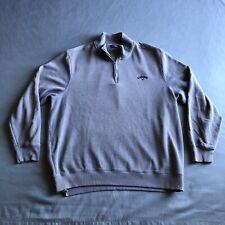 Callaway Golf 1/4 Zip Pullover Sweater Grey XL Mens Golf Apparel