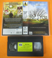 VHS film BIG FISH 2004 Ewan Mcgregor Albert Finney Tim Burton Lange (F212)no*dvd