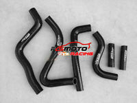 BLACK silicone radiator hose kit For Kawasaki KX250 KX 250 1999-2002 2000 2001