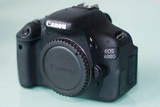 Canon EOS 600D 18.0MP SLR-Digitalkamera Gehäuse - 12 Mon. Gewährleistung