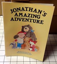 """Troll Associates """"Jonathan's Amazing Adventure"""" Paperback Book by Erica Frost"""