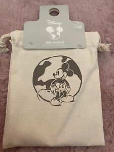 PRIMARK Disney Minnie Mickey Mouse Bumper Stationary Bag Pencil Case Notepad