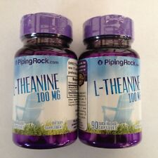 L Theanine 100Mg (180) Pills Capsules Comes From Amino Acid of Green Tea Leaves