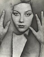 1931 Original MAN RAY Surreal Female Face LA RESILLE Solarized Photo Gravure Art