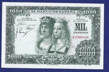 1000 PESETAS 1957 GEM UNCIRCULATED BANKNOTE FROM SPAIN