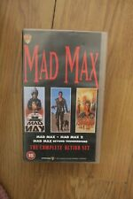 mad max vhs tape box set