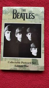 THE BEATLES  POSTCARD SET OF 9 EDITION 1 SEALED BRAND NEW