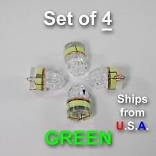 SET OF 4 DIAMOND LED fishing lights, GREEN, deep drop, swordfish, FREE SHIP, USA