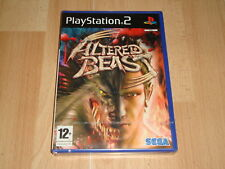 ALTERED BEAST DE SEGA PARA LA SONY PLAY STATION 2 PS2 NUEVO PRECINTADO