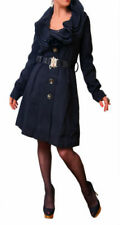 Patternless Winter Women's Trench Coats