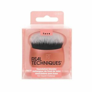 New REAL TECHNIQUES Foundation Blender Powder Brush Makeup Cosmetic Brush Puff