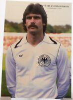 Herbert Zimmermann + Fußball Nationalspieler DFB + Fan Big Card Edition B288 +