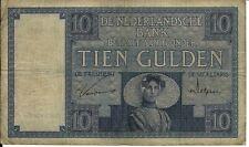 10 Gulden 1927 Zeeuws Meisje