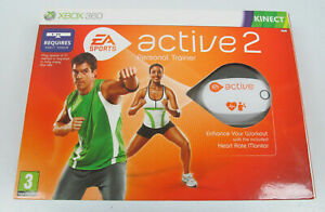 XBOX 360 KINECT Active Sports 2 - Heart Rate Monitor & Resistance Band Set