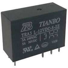 5 pezzi 5v DC Mini Power Relay PCB tipo relè di potenza d5t2