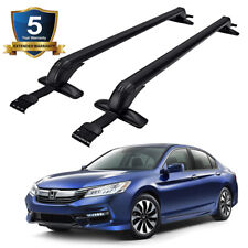 For Honda Accord 1998-2019 Aluminum Roof Rack Cross Bar Carrier Anti-theft Lock