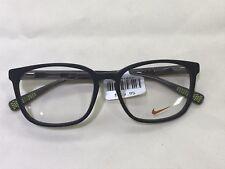 e60f8b6f49a6e NEW Nike 5016 (006) Black Volt 53  16 135 Eyeglasses Frame
