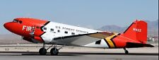 Douglas DC-3 USFS BT-67 Basler Turbo DC3 Aircraft Wood Model Free Shipping