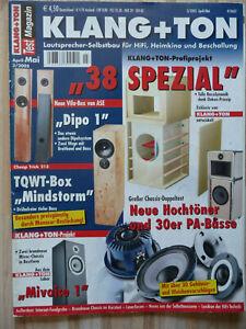 Klang & Ton 3/2005,  Inhaltsverzeichniss siehe Foto